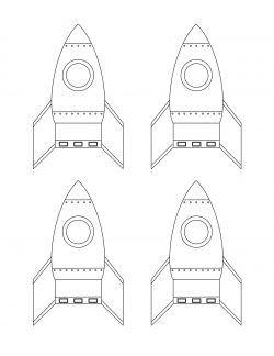 Uzay Roket Boyama Arsivleri Okul Oncesi Okul Gezegenler