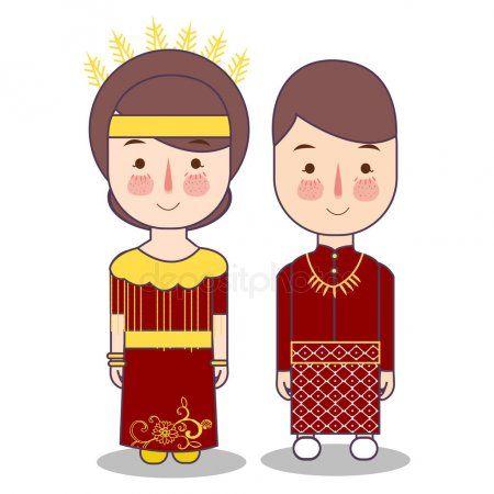 Baju Adat Bali Kartun