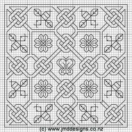 Punto Croce Beginner Puntocroce Blackwork Patterns Blackwork Cross Stitch Blackwork Embroidery Patterns