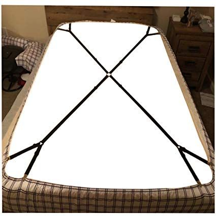 1 Set Criss Cross Adjustable Bed Fitted Sheet Straps Suspenders Gripper Holder Fastener Amazon Ca Home Kitchen Adjustable Beds Fitted Sheet Criss Cross