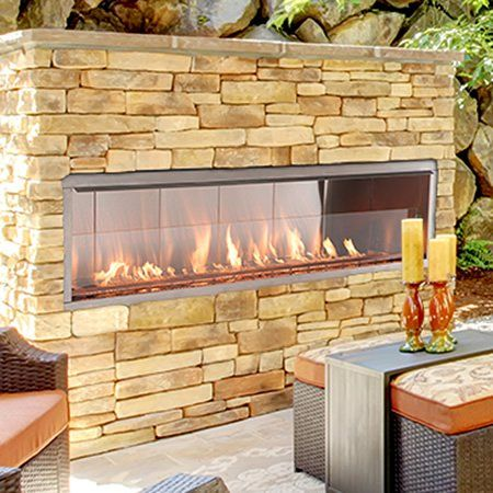 Superior Vre4600 Linear Outdoor Gas Fireplace Woodlanddirect Com Outdoor Fireplaces Fire Outdoor Gas Fireplace Linear Fireplace Outdoor Fireplace