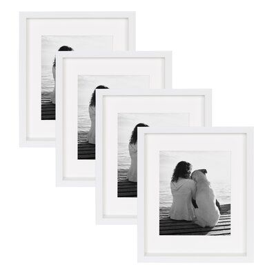 Alcott Hill Anthony Wood Picture Frame Colour White Size 12 X 15 In 2020 White Picture Frames Contemporary Picture Frames Picture Frame Colors