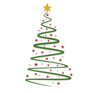 Christmas Tree Swirl Christmas Vinyl Christmas Svg Files Cricut Crafts
