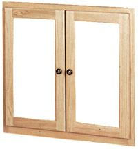 Rockwood Unfinished Furniture: door styles available