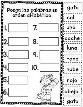 May Spanish Literacy Fun No Prep Lectura De Palabras Lectura Y