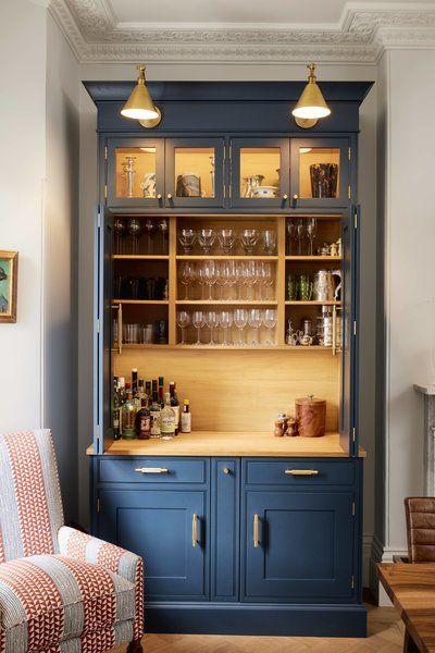 Dining Room Medium Hardwood Floor Chair And Storage Welsh Dresser