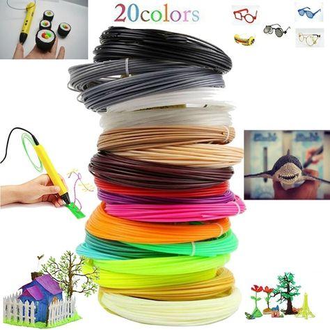 1.75mm PLA 3D Printer Filament Plastic Consumables Material Printing Supplies OK