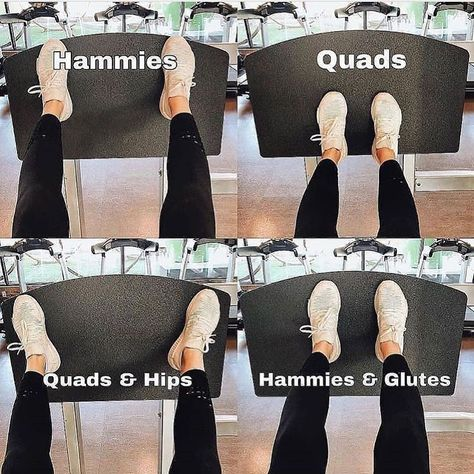 """Leg press: """"Foot placement is key! 🔑 I love the leg press machine because it's so versatile and absolutely demolishes the legs! Yoga Fitness, Sport Fitness, Physical Fitness, Fitness Goals, Planet Fitness Workout, Mental Health Articles, Health And Fitness Articles, Gym Nutrition, Nutrition Month"""
