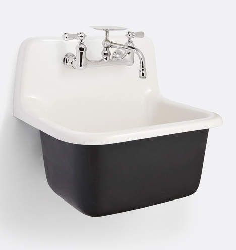 Grizzly Cast Iron Utility Sink With Drain In 2020 Laundry Room