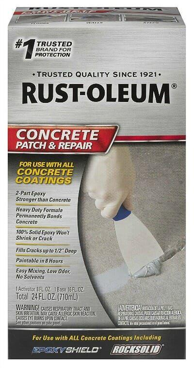 Easily Repair Your Pitted Or Spalled Garage Floor All Garage Floors Repair Cracked Concrete Repair Driveway Repair