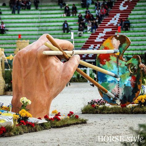 Horse & Style Magazine--Amazing jump @ WEG in Normandy, France
