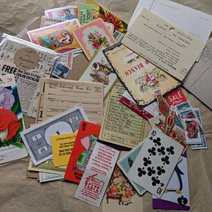 50 Piece Mixed Lot Of 50 Paper Pieces Vintage Paper Scrapbook Etsy In 2020 Vintage Paper Paper Craft Projects Scrapbook Paper