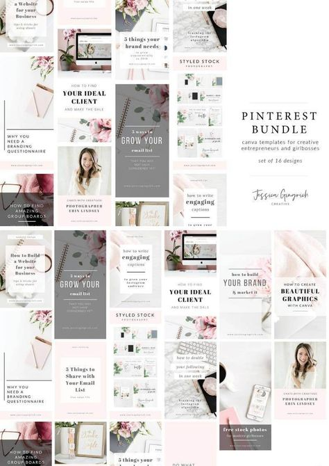 perfect pinterest templates to save so much time female entrepreneurs bloggers also rh co