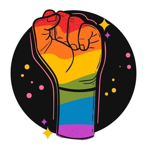 Pride day concept with rainbow coloured ...   Free Vector #Freepik #freevector #love #flag #celebration #rainbow