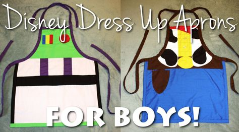 Disney Under 3 - Why We Traded our Disney Princess Dresses for Dress Up Aprons