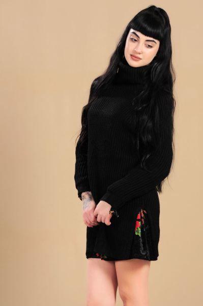 Bayan Triko Uzun Bogazli Triko Kazak Tasarim Spor Dikis Kadin Modelleri Style Tesettur Moda Genc Toptan Kaliplari Butik Marjin Triko Moda Kadin