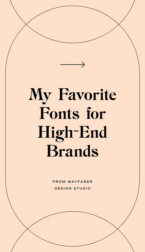 Favorite Paid Fonts for High-End, Sophisticated Brands