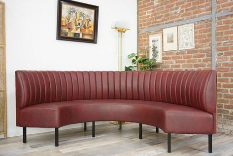 This Curved Sofa Was Originally Used In