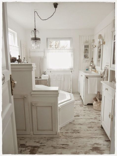 Shabby and Charme: Una favolosa stanza da bagno in stile ...