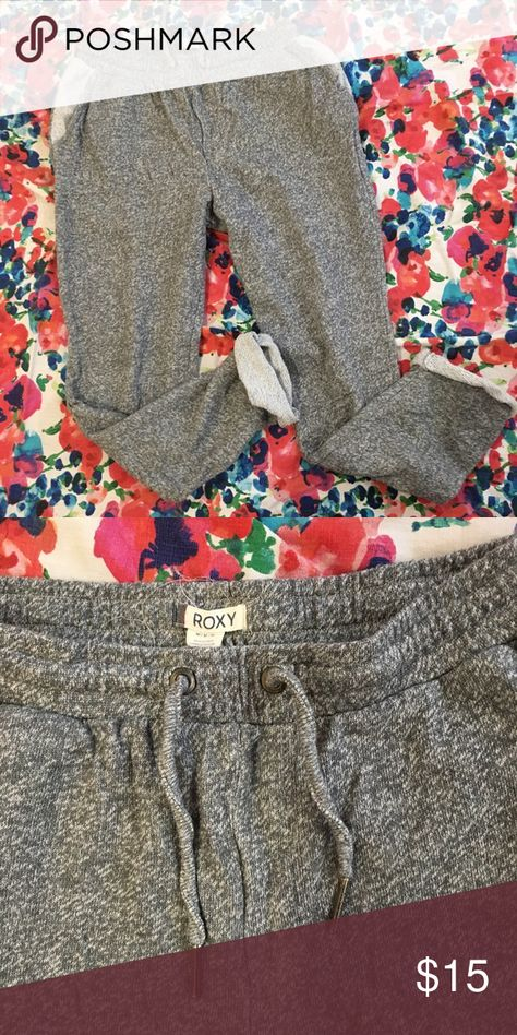ROXY ROLLED UP PANTS WOMENS SWEAT BOTTOMS TRACK PANTS