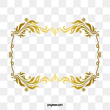 Gold Pattern Frame Frame Text Box Png Transparent Clipart Image And Psd File For Free Download In 2021 Vector Pattern Gold Clipart Gold Frame