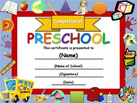 17 Best images about education on Pinterest Free certificate - school certificate templates
