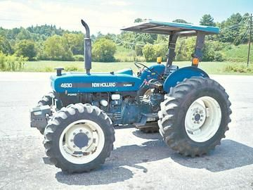 Instant Download Ford New Holland 4630 Tractor Parts List Manual