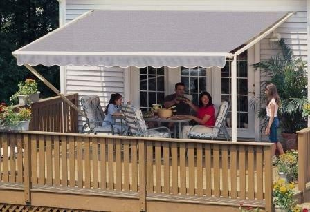 18ft Slate Gray 1000xt Retractable Awning With Images Retractable Awning Awning Patio Canopy