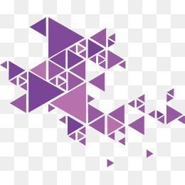 Purple Triangle Poster Vector Png Art Artistic Sense Png Transparent Clipart Image And Psd File For Free Download Polygon Art Triangle Design Triangle Art