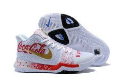 uk availability 47f4b 9d37f Nike Zoom Kyrie 3 Pepsi-Cola Men's Basketball Shoes ...