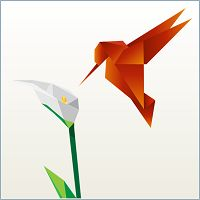 Origami bird powerpoint template powerpoint templates origami bird powerpoint template powerpoint templates pinterest template toneelgroepblik Image collections