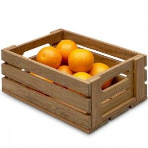 Skagerak Dania Onion Box   Teak
