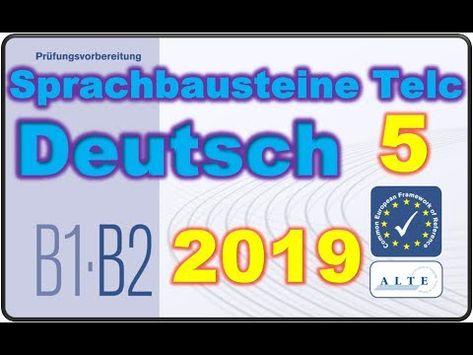 Modelltest 5 B1 B2 Beruf Sprachbausteine Deutsch 24 05 2019 Deutsch Fur Den Beruf Deutsch Als Fremdsprache Deutsch
