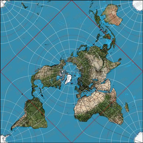 Chic Idea Most Accurate World Map AuthaGraph