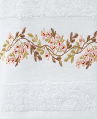 Saturday Knight Misty Floral Bath Towel Bedding Bath Towels