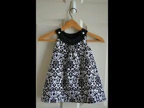 Vestido De Niña Paso A Paso Super Fácil Y Bonito Vestidos Para Niñas Vestidos Bonitos Para Niña Costura De Vestidos De Niñas