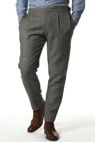 00b74dc98 Modelos de pantalones de vestir para hombres | Moda caballeros ...