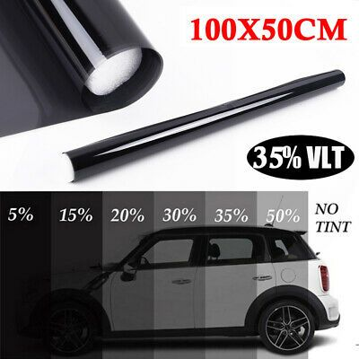 Details About Static Cling Anti Glare Privacy Window Tint Film 35 Black Car Office Home New In 2020 With Images Window Tint Film Tinted Windows Shade Film