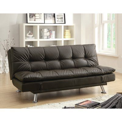 Wildon Home Full Convertible Sofa In 2020 With Images Futon Sofa Futon Sofa Bed Sofa Bed