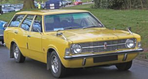 1970 1973 Ford Cortina Mk Iii Estate Classic British Ford Cars