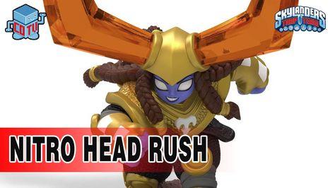 Skylanders NITRO Head Rush Gameplay #skylanders #headrush #collecting #toys