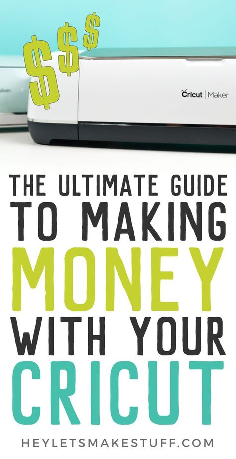 If you've ever wondered, can I make money with my Cricut? the answer is yes! Learn everything you need to know about starting a business selling the crafts you make with your Cricut Explore or Maker. If you've ever wondered, Cricut Air 2, Cricut Help, Cricut Stencils, Cricut Apps, Tips And Tricks, Dollar Store Hacks, Proyectos Cricut Explore, Silhouette Cameo, Cricut Explore