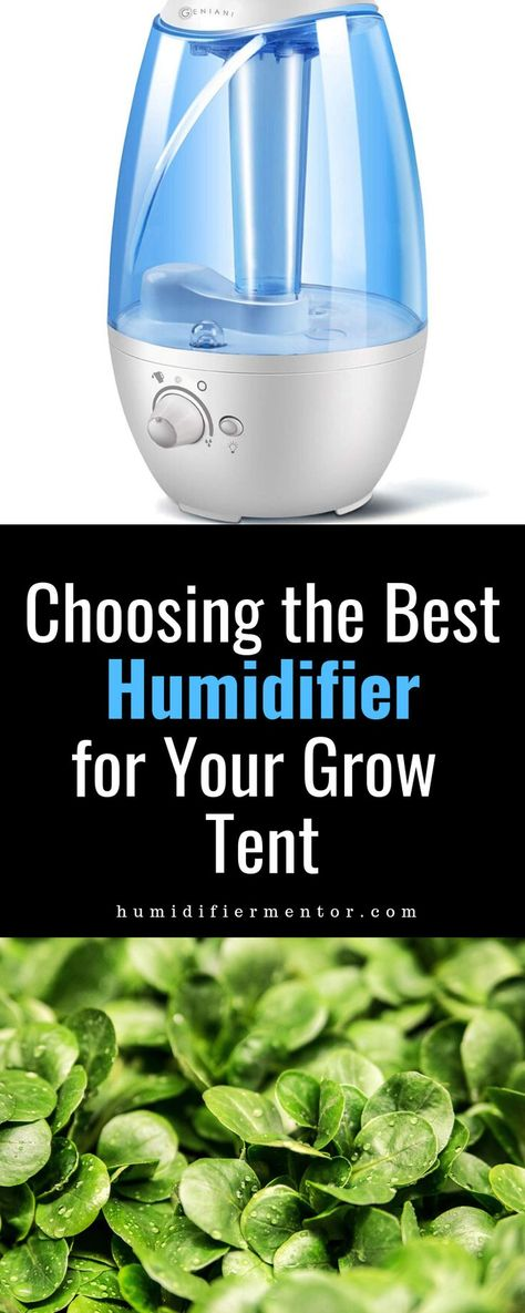 best grow tent humidifier