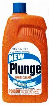 Plunge Drain Cleaner 1960s Precursor To Drano Johnson Wax