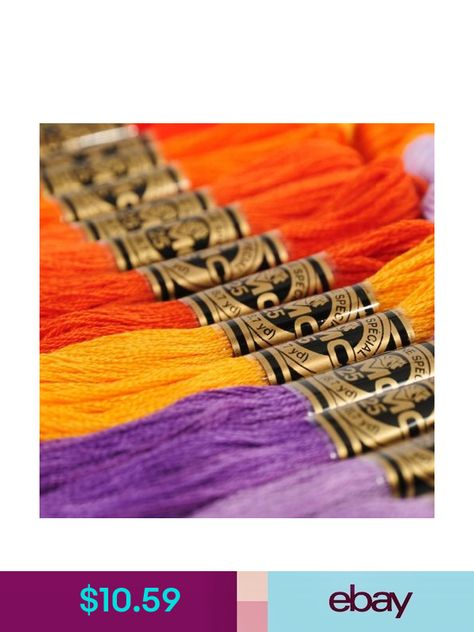 20 NEW DMC Embroidery Floss ART117 8.7 YARD 6 STANDS 516 COLORS AVAILABLE