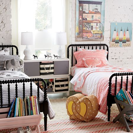 Jenny Lind Black Bed In 2020 Shared Girls Bedroom Boy And Girl