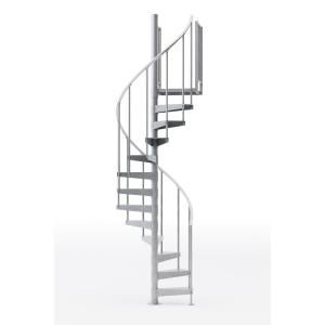 Mylen Stairs Reroute Galvanized 60 In 5 Ft 0 In Wide 14