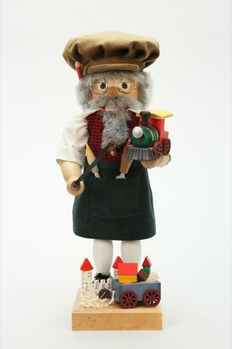 Traditional profession in the Erzgebirge: The toymaker! Christian Ulbricht Nutcracker - Toy maker Limited (44,5cm/18in) by Christian Ulbricht