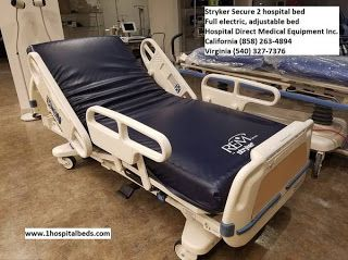 Imedical Hospital Beds Stryker Secure 2 Hospital Bed Beds For Sale Hospital Bed Bed Design