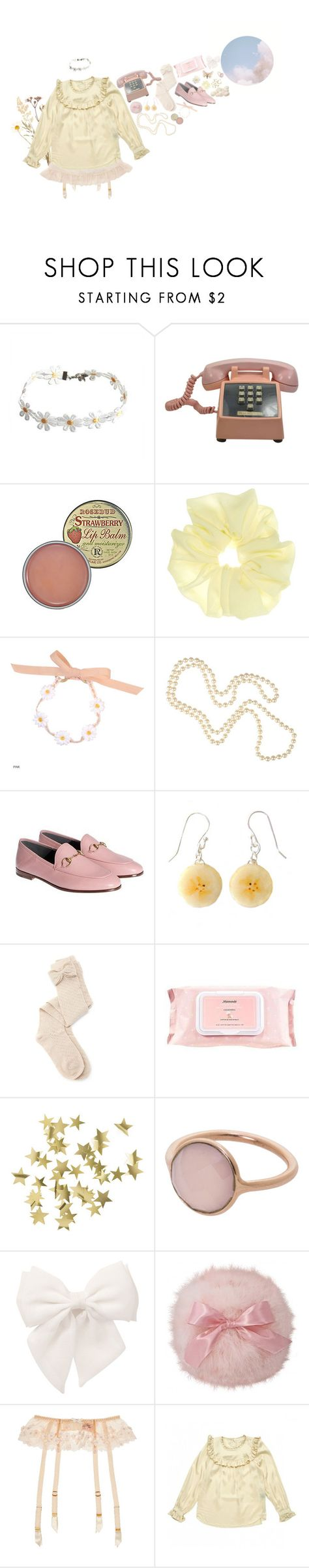 """""""Unbenannt #131"""" by togetic ❤ liked on Polyvore featuring Rosebud Perfume Co., Louche, Gucci, Charlotte Russe, Mamonde, H&M, Marjana von Berlepsch, Forever 21, Agent Provocateur and Étoile Isabel Marant"""